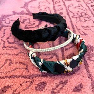 Accessories - Headband Bundle - Velvet, Braided, Pearl, Floral